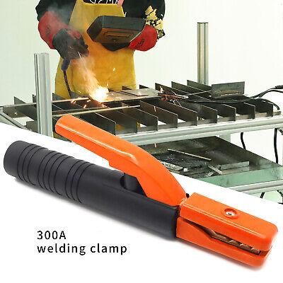 300a Electrode Holder Stick Arc Welder Copper Rod Stinger Welding Accessories Us