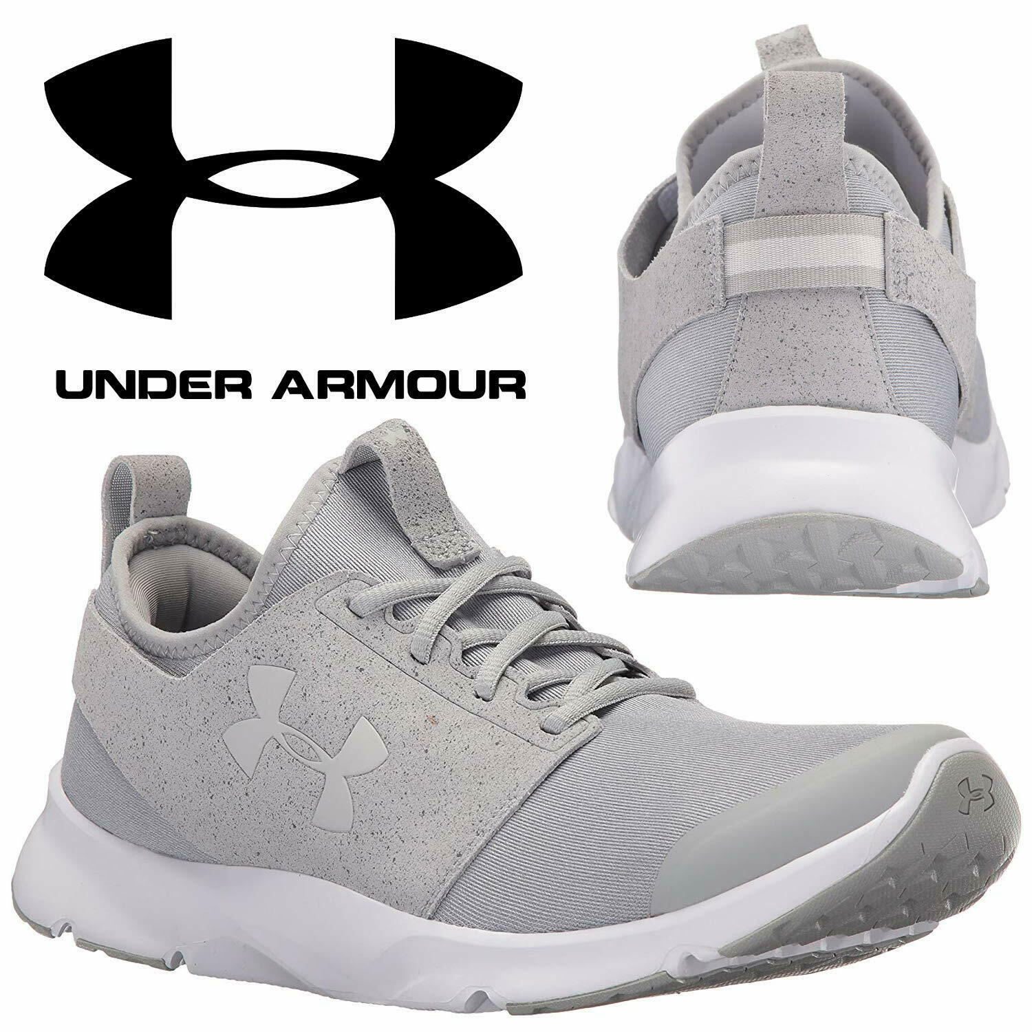 Under Armour Mens Drift Rn Mineral Low Top Lace Up Walking Shoes