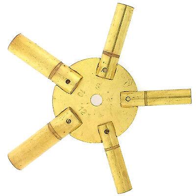 Universal Clock Key for Winding Grandfather Clocks Sizes 4 6 8 10 12