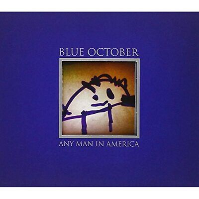 BLUE OCTOBER ANY MAN IN AMERICA CD  - $14.19