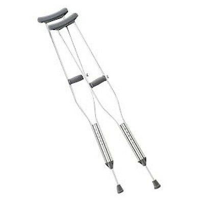 - NEW Lightweight Medical Aluminum Crutches - Pair - 5' 1