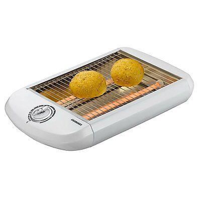 Melissa Flachtoaster 650W Timer Flachbetttaoster Tischröster Flachbett Toaster