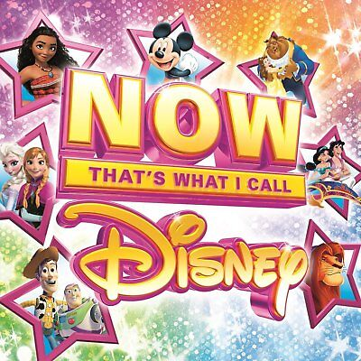 NOW THATS WHAT I CALL DISNEY (Various Artists) 4 CD SET (2017)