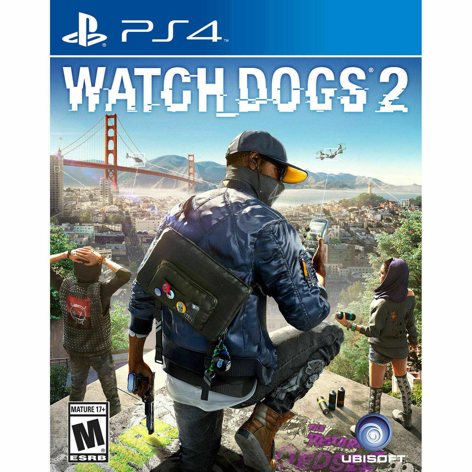 WATCH DOGS 2  (PS 4, 2016)  (2...