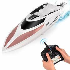 Abco Tech Remote Control RC Boat for Kids Adults 20+ MPH Speed 4 Channel Racing