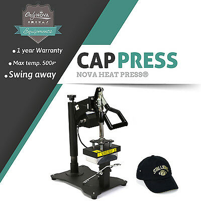 Nv-acp Cap Heat Press Machine Swing Away