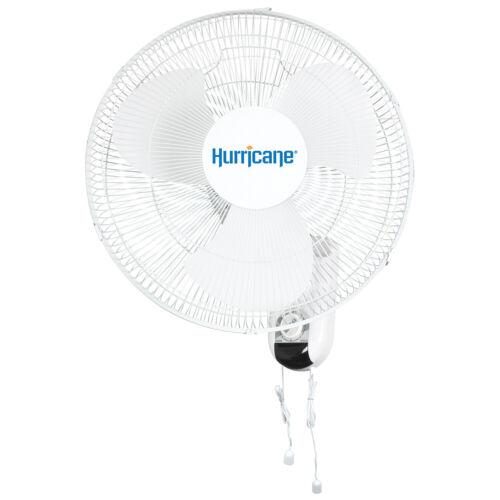 Hurricane Classic Oscillating Wall Mount Fan 16-inch