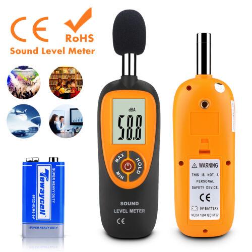 Sound Level Meter Digital LCD Display Noise Tester Measurement Decibel 30-130dB