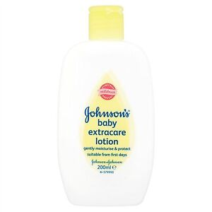 Johnsons Baby Extracare Lotion 200ml (6 pack)