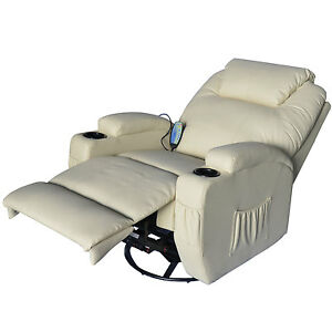 pu leather cinema massage sofa recliner chair heat rocking vibrate