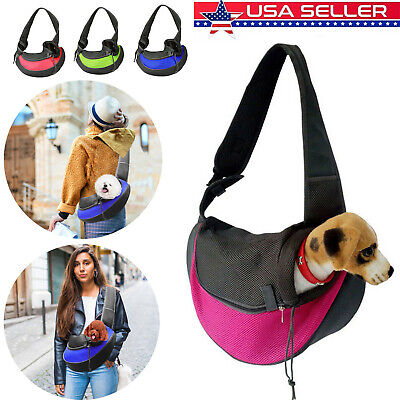 Pet Puppy Small Dog Cat Carrier Comfort Travel Tote Shoulder Bag Sling Backpack