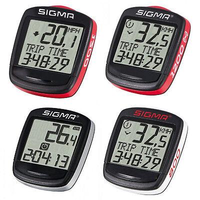 Fahrradcomputer Fahrradtacho Kilometerzähler Tachometer Kmh Mph Sigma Base NEU online kaufen