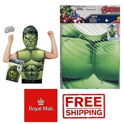 The Hulk Costume Dress Up Set Marvel Fancy - Hulk Kostüm Halloween