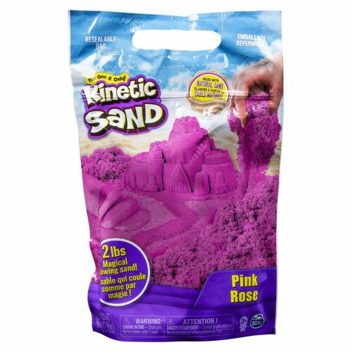 🚛Fast Shipping! {NEW} Pink Rose Kinetic Sand 2lb Magic Flowing Sand Easter