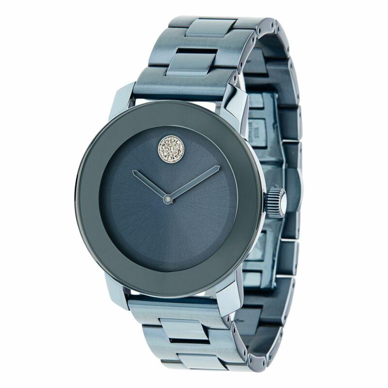 Movado 3600494 Women Bold Blue Quartz Watch