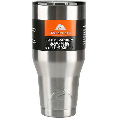Ozark Trail 40 oz Stainless Steel Tumbler Vacuum Insulated  for sale  Shipping to South Africa