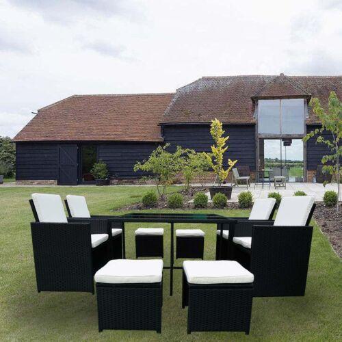 Garten Sitzgruppe Miami Lounge Weiss Grau Gartenmobel