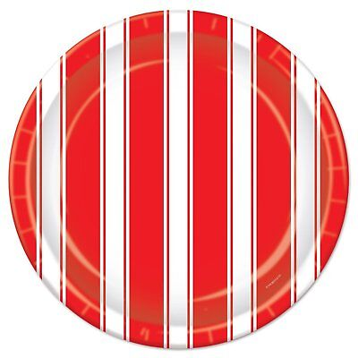 Red White Stripes Carnival Circus Theme Birthday Party 9