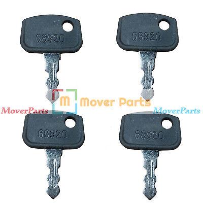4 For Kubota Rtv500 B Bx Gr F Zr Zd Rtv1400 Rtv Series Ignition Key Pl50168920