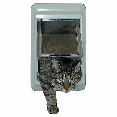 IDEAL e-Cat™ Electromagnetic Magnetic Cat Dog Pet Door Interior Exterior Flap