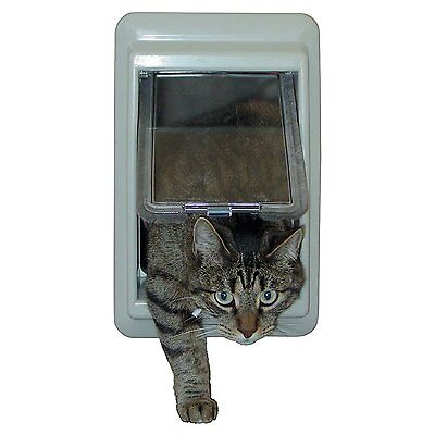 - IDEAL e-Cat™ Electromagnetic Magnetic Cat Dog Pet Door Interior Exterior Flap