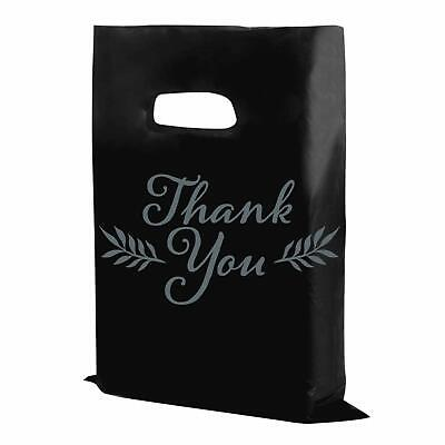 Houseables Thank You Merchandise Bags Plastic 16 X 18 100pk 1.75 Mil Thick