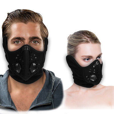 Half Face Winter Ski Mask Anti Dust Filter For Motorcycle Running Cycling Sports