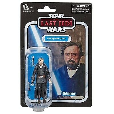 Star Wars The Vintage Collection Luke Skywalker Crait