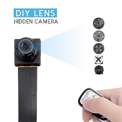 1080 Hd Screw Spy Hidden Video Micro Nanny Pinhole Camera Dvr Recorder Cam New