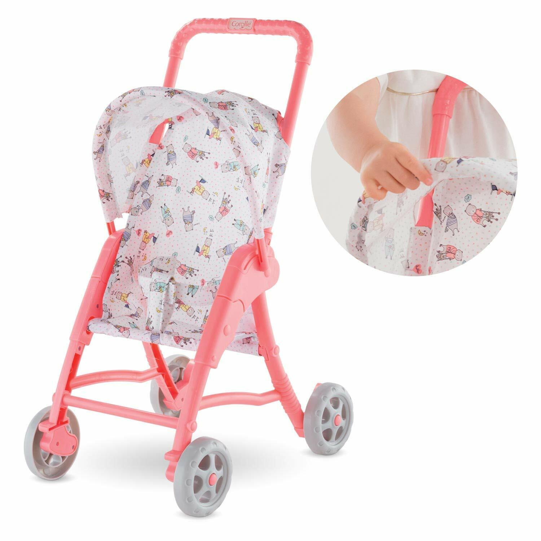 "Corolle - Mon Premier Poupon Stroller for 12"" Baby Dolls New"