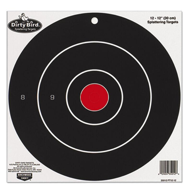 Birchwood Casey 35825-PT8-25 Dirty Bird Target 8 inch Bull 25 Pack
