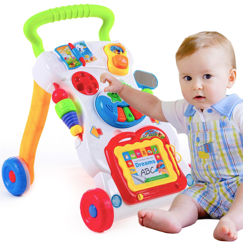 Laufwagen Lauflernhilfe Lauflernwagen Walker Baby Gehfrei Kinder Piano KP1047