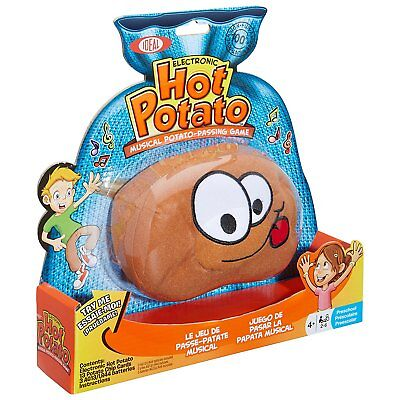 Ideal Hot Potato Electronic Musical Passing Game for Ages 4+ Kids, 0X2561TL New
