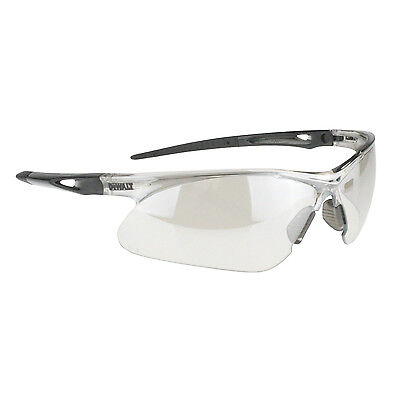 Dewalt Recip Safety Glasses With Indoor Outdoor Mirror Lens