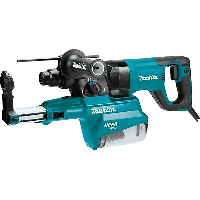 Makita Hr2661 1 Avt Rotary Hammer Sds-plus Bits With Hepa Extractor