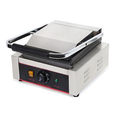 Vertes 1800W Grill a contatto elettrico Piastra scanalata Panini Griglia Pannini