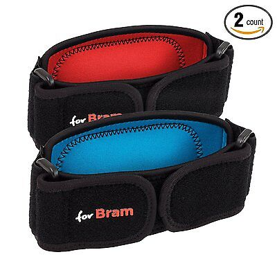 Best Tennis and Golf Elbow Brace with Compression Pad by forBram 2