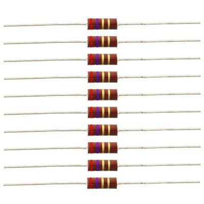 12 Watt Carbon Comp Resistors - 2.7 Ohm 10 Pack