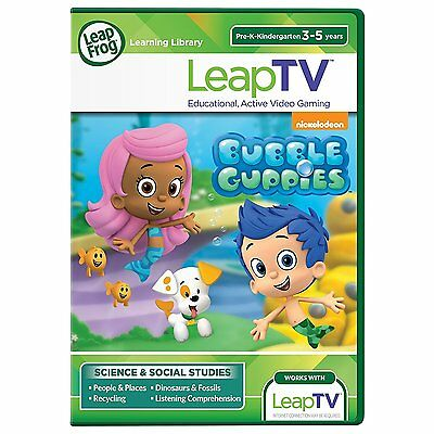 LeapFrog LeapTV Nickelodeon Bubble Guppies Educational, Acti