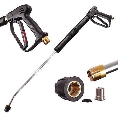 Hochdruck Pistole + Lanze 900 + Düse 280bar für Kärcher Wap Kranzle Alto Nilfisk