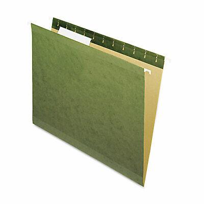 Pendaflex X-ray Hanging File Folders No Tabs Letter Standard Green 25box 4152