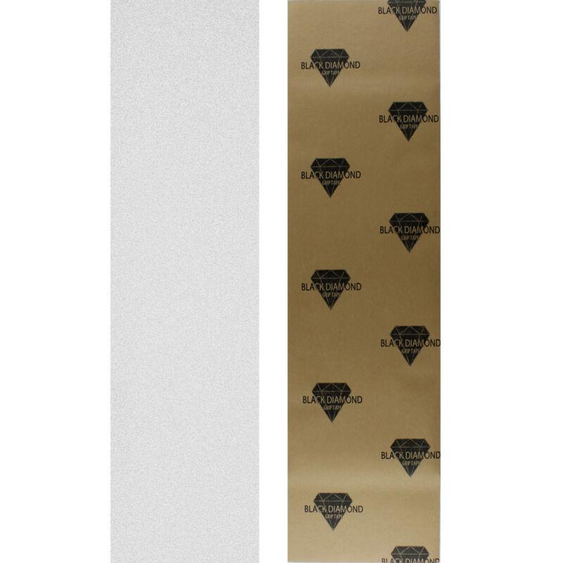"Black Diamond Skateboard Grip Tape Sheet Clear 9"" x 33"" Griptape"