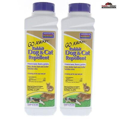 (2) Rabbit Dog Cat Repellent Granules ~ New - Fast Shipping