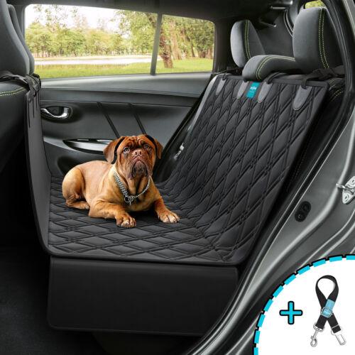 Dog Seat Cover Hammock for BackSeat Durable Waterproof Car Truck Suv + Seatbelt