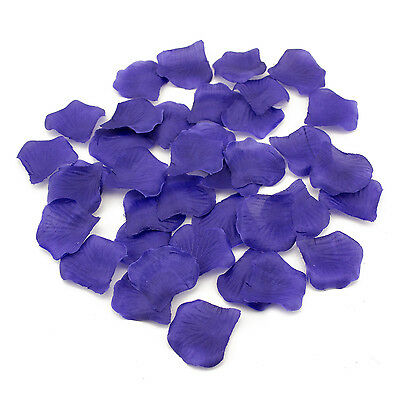 Purple Silk Rose Petal 600 Pieces For Wedding Party Favors Arts and Crafts  - Crafts And Favors