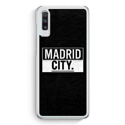 Madrid CITY Samsung Galaxy A70 Hülle Motiv Design Spanien Espana Cover Hardca...