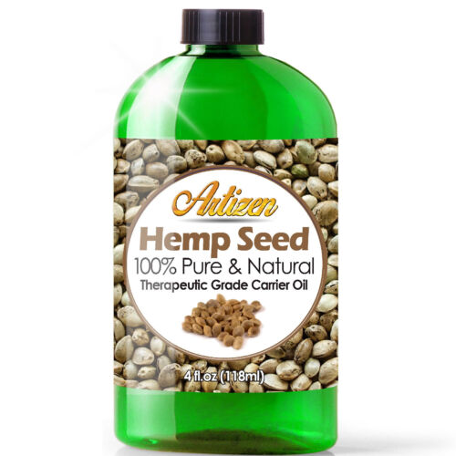 Premium Hemp Oil Drops for Pain Relief, Anxiety, Sleep (PURE, NATURAL) - 4oz