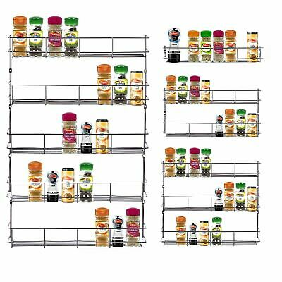Spice Sauce Rack Jar / Bottle Storage Shelf for Kitchen Cupboard Door New