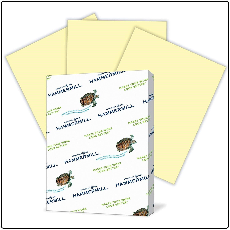 Canary Printer Copy Paper 8.5x11 Paper 500 Sheets 1 Ream Pas