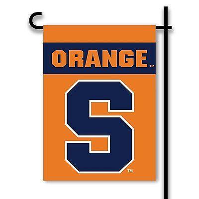 Syracuse Orange Flag (Syracuse Orange NEW LOGO 2-sided GARDEN Window Flag Outdoor Banner University )